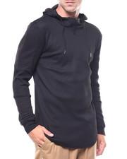 Hoodies - Moto Shoulder Waffle Knit Hoody-2258999