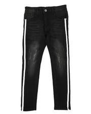 Sizes 8-20 - Big Kids - Distressed Skinny Jeans (8-20)-2258465