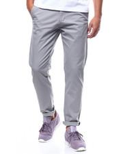 Pants - STRETCH TWILL CHINO W CHAMBRAY INSERT-2258946