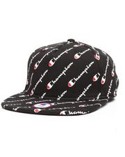 Champion - Reverse Weave Baseball Hat with Diagonal Script-2257383
