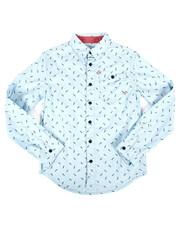 Lee - Long Sleeve Printed Poplin Shirt (8-20)-2253691