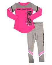 La Galleria - 2 Piece Athleisure Knit Tunic/Legging Set (4-6X)-2255056