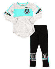 Sets - 2 Piece Athleisure Knit Tunic/Legging Set (4-6X)-2255048