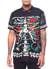 ROLLAS - RIBS & FLOWER BON SHIRT-2258834