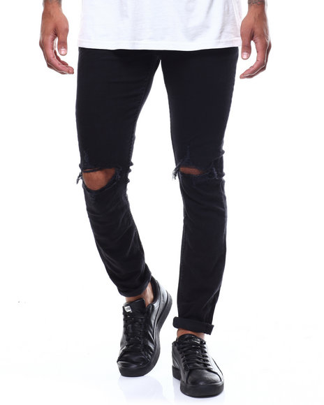 ROLLAS - Stinger Skinny Fit Ripped Jean