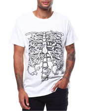 Men - RIBS & FLOWER TEE-2258769