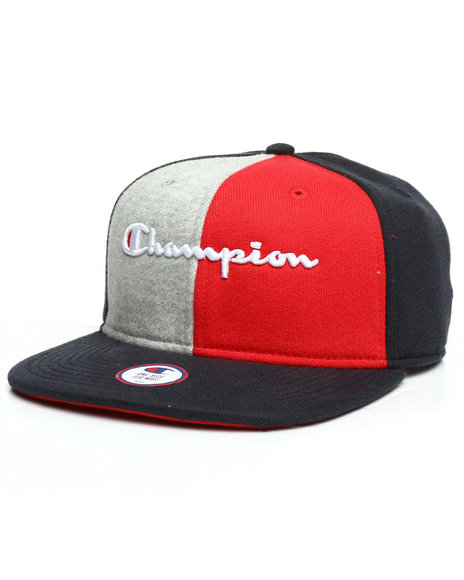 Champion - Reverse Weave Colorblock Baseball Hat