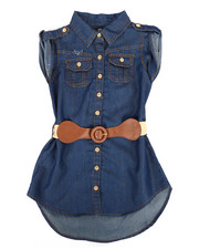 Dollhouse - Denim Dress (2T-4T)-2258006