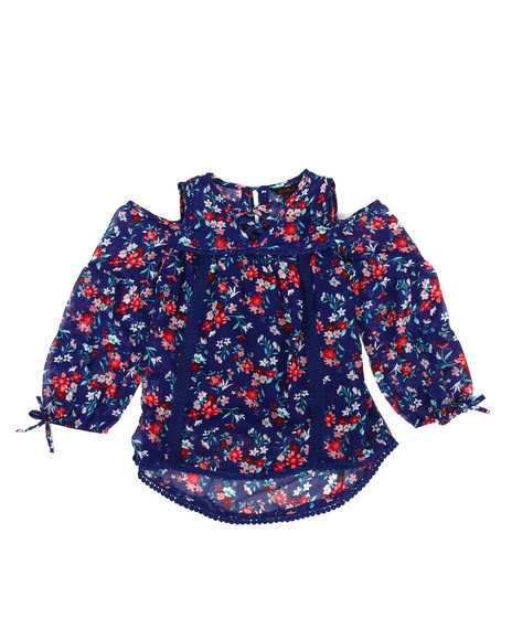 Delia's Girl - Chiffon Top w/Cami (4-6x)