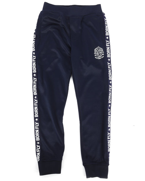 Born Fly - Poly Interlock Track Pants (8-20)
