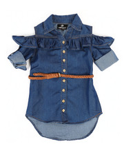 Dollhouse - Denim Dress (2T-4T)-2258022