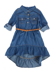 Dollhouse - Denim Dress (4-6X)-2258030