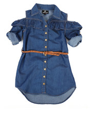 Dollhouse - Denim Dress (4-6X)-2258026