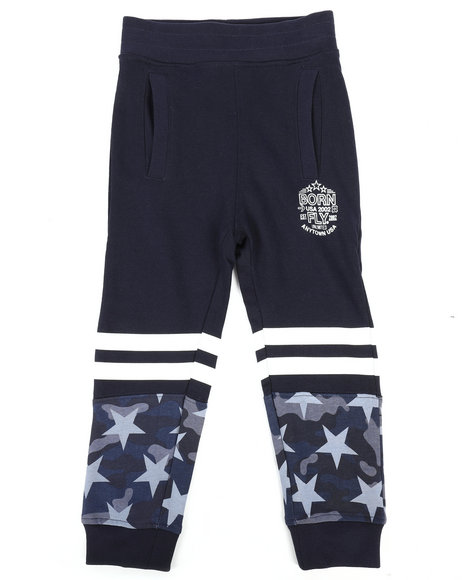 Born Fly - Pieced Loopback Sweatpants (4-7)