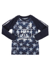Born Fly - Long Sleeve All Over Printed Tee (4-7)-2258754