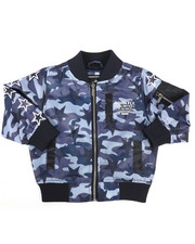 Outerwear - Printed Nylon Jacket (2T-4T)-2258632