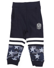 Bottoms - Pieced Loopback Sweatpants (2T-4T)-2258693