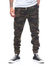The Camper - Cargo - Pocket Twill Joggers-2259386
