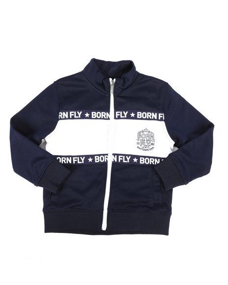 Born Fly - Poly Interlock Track Jacket (4-7)