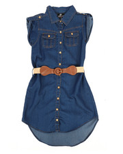 Dollhouse - Denim Dress (7-16)-2258014