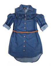 Dollhouse - Denim Dress (7-16)-2258018