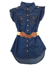 Dollhouse - Denim Dress (4-6X)-2258010