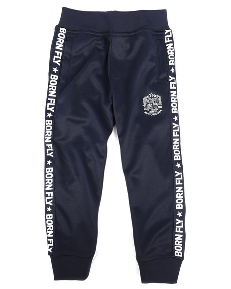 Born Fly - Poly Interlock Track Pants (4-7)