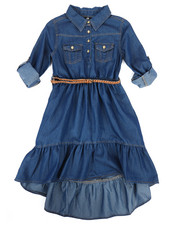 Dollhouse - Denim Dress (7-16)-2258034