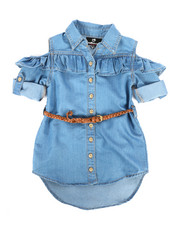 Dollhouse - Denim Dress (2T-4T)-2258042