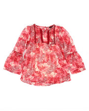 Sizes 7-20 - Big Kids - Chiffon Top w/Cami (7-16)-2258062