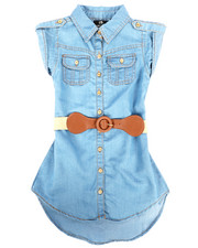 Dollhouse - Denim Dress (4-6X)-2257999