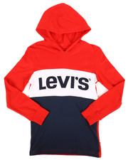 Levi's - Danny Long Sleeve Hooded Tee (8-20)-2258507