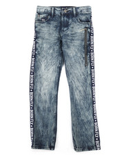 Born Fly - Washed Denim Jeans w/Taping Detail (8-20)-2258707