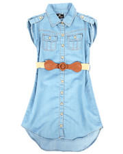 Dollhouse - Denim Dress (7-16)-2258003