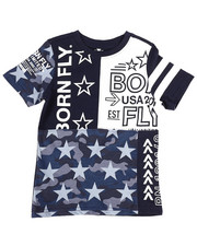 Born Fly - Pieced And Printed Tee (4-7)-2258444