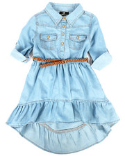 Dollhouse - Light Denim Dress (4-6X)-2257987