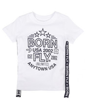 Born Fly - Graphic Tee w/Side Taping (2T-4T)-2258741