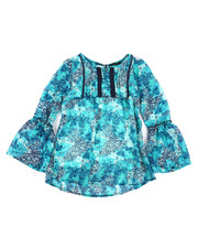 Sizes 7-20 - Big Kids - Chiffon Top w/Cami (7-16)-2258066