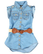 Dollhouse - Denim Dress (2T-4T)-2257995