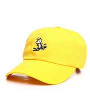 Dad Hats - Peanuts Snoopy Sk8 6 Panel Curved Visor Hat-2258136