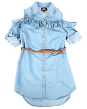 Dollhouse - Denim Dress (7-16)-2257983