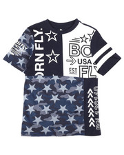 Born Fly - Pieced And Printed Tee (8-20)-2258457