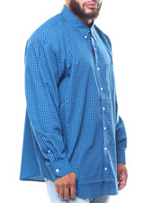 Shirts - L/S Premium Essential Gingham (B&T)-2257182