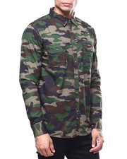 Buyers Picks - Valdosta Camo Button-down Shirt-2259842