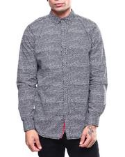 Shirts - ABSTRACT DOT PRINT LS WOVEN SHIRT-2259773
