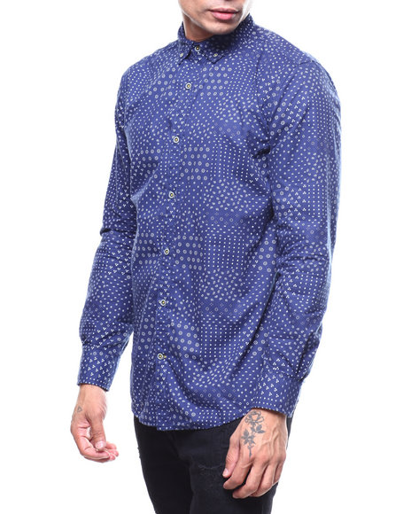 Buyers Picks - MADRIS PRINT LS WOVEN SHIRT