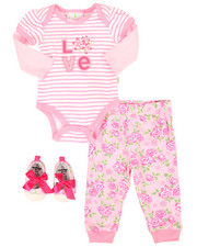 Infant & Newborn - 3 Piece Love Knit Set (Infant)-2258548