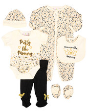 Infant & Newborn - 7 Piece Pretty Cheetah Print Gift Set (Infant)-2258588