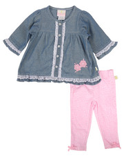 Infant & Newborn - Chambray & Denim Legging Set (Infant)-2258624