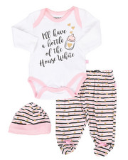 Infant & Newborn - 3 Piece Knit Set (Infant)-2258568